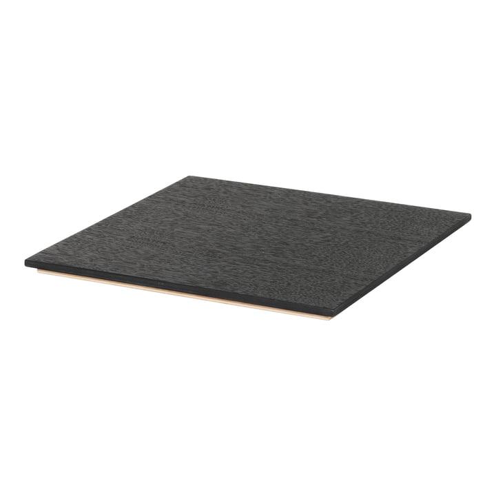 Tablett für Plant Box in Eiche schwarz von ferm Living