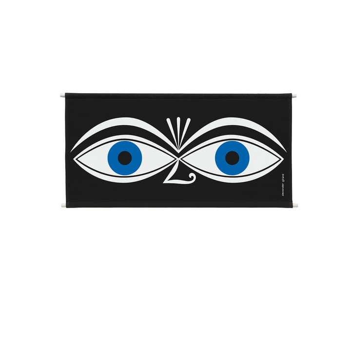Environmental Wall Hanging Wand-Panel 83 x 46,6 cm Eyes blue von Vitra