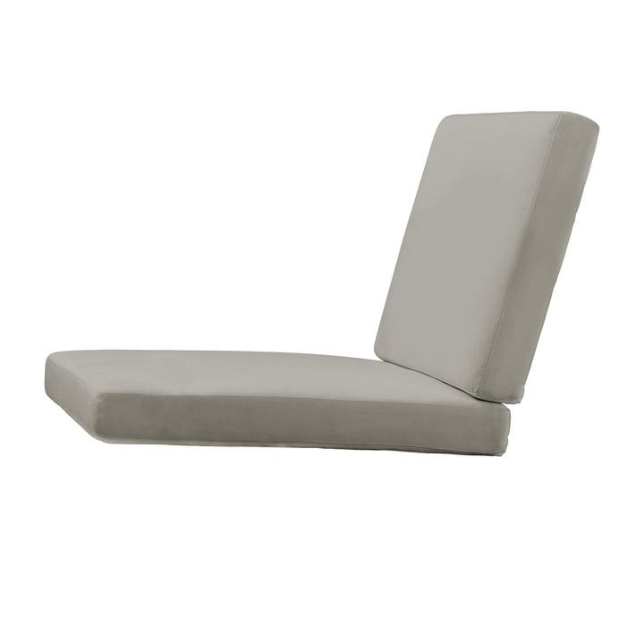 Sitzauflage für BK10Gartenstuhl von Carl Hansen in Sunbrella charcoal 54048