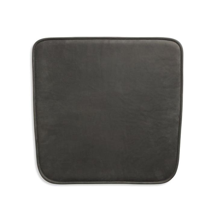 Sitzauflage für Hven Armlehnstuhl von Skagerak in anthrazit schwarz (Protected Leather)