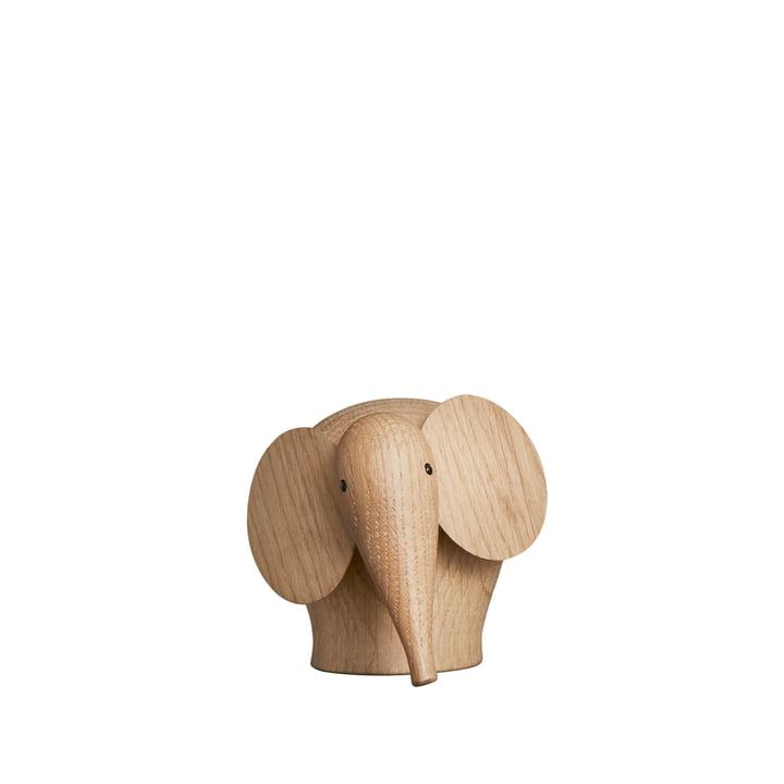 Nunu Elephant in mini von Woud in Eiche matt lackiert