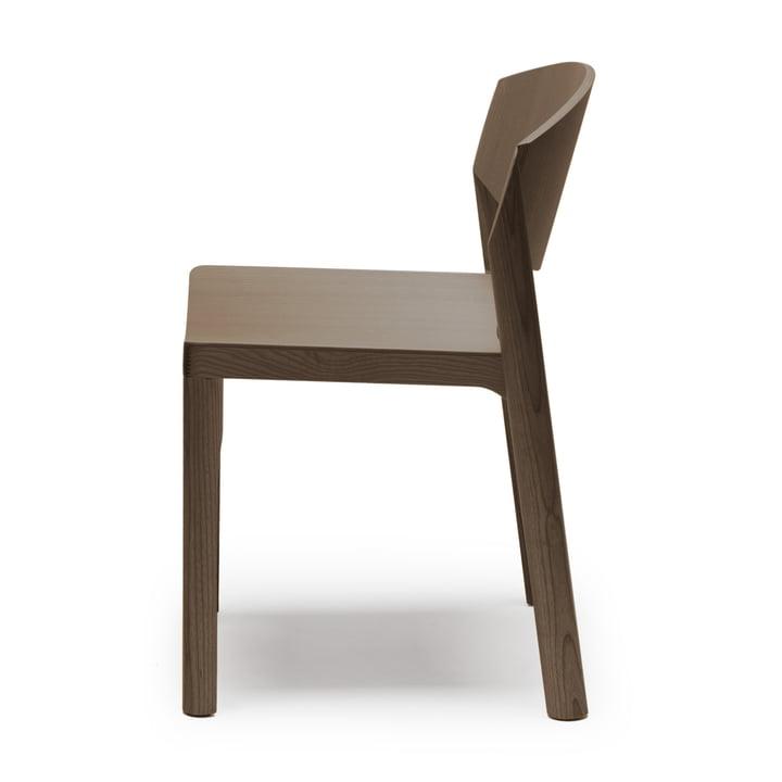 Mauro Chair von Established & Sons in Esche dunkel gebeizt