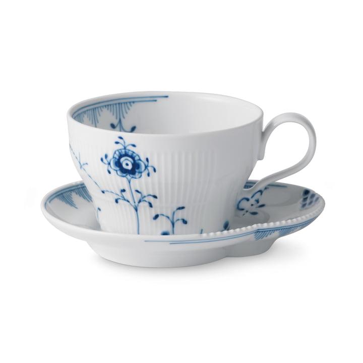 Elements Blau Tasse mit Untertasse 26 cl von Royal Copenhagen