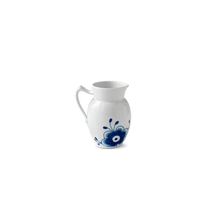 Mega Blau Gerippt Milchkännchen 38 cl von Royal Copenhagen