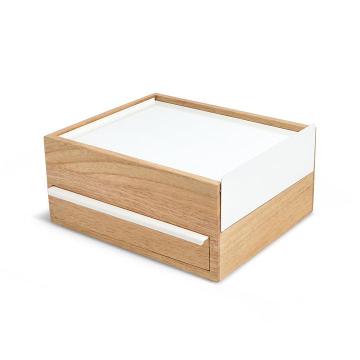 Stowit Schmuckkasten von Umbra in Buche / weiß