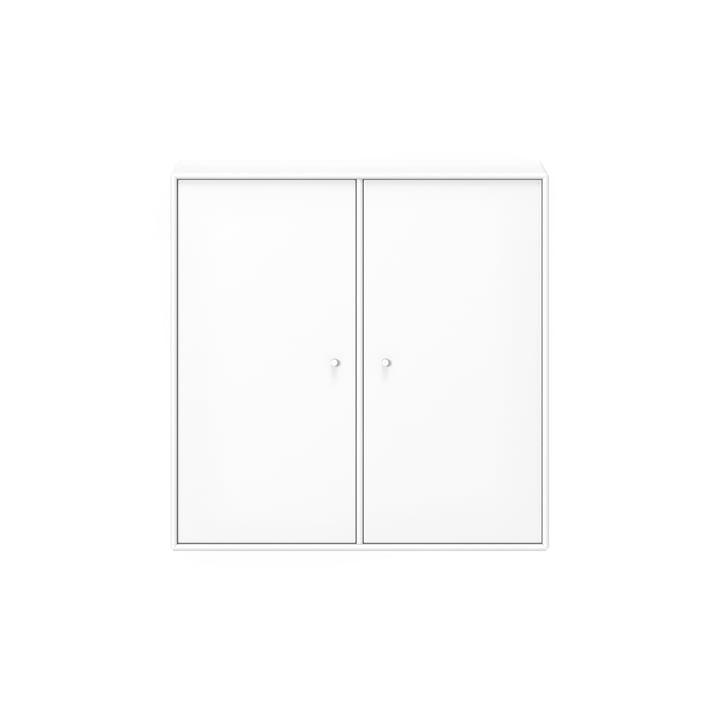 Cover Schrank mit Einlegeboden und Aufhängung von Montana in new white