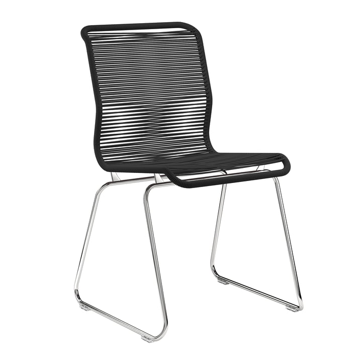 Panton One Stuhl von Montana in Clark / Chrom