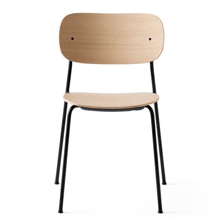 Co Dining Chair in schwarz / Eiche natur von Menu