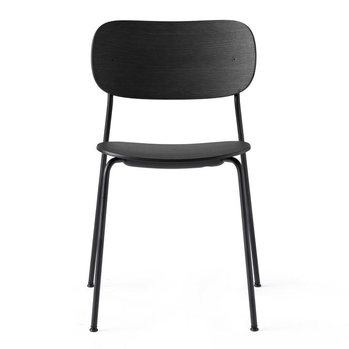 Co Dining Chair in schwarz / Eiche schwarz von Menu