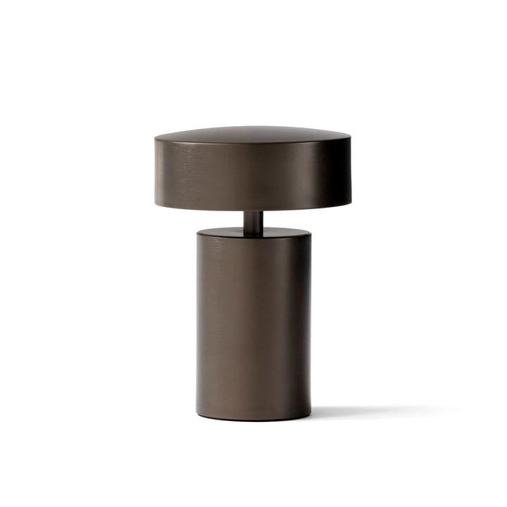 Column Tischleuchte in Bronze von Menu