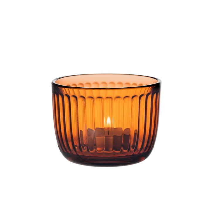 Raami Teelichthalter von Iittala in seville orange