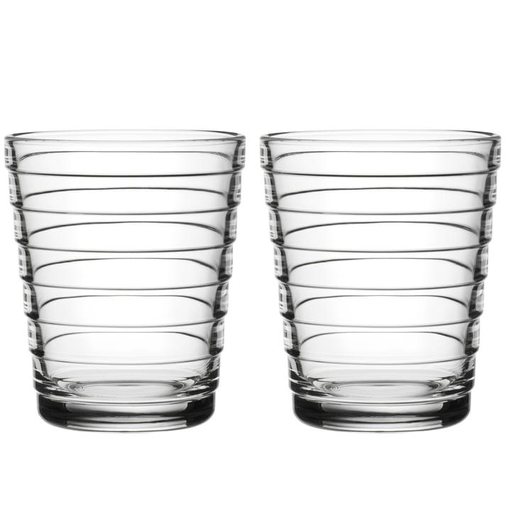 Aino Aalto Glasbecher 22 cl von Iittala in klar (2er-Set)