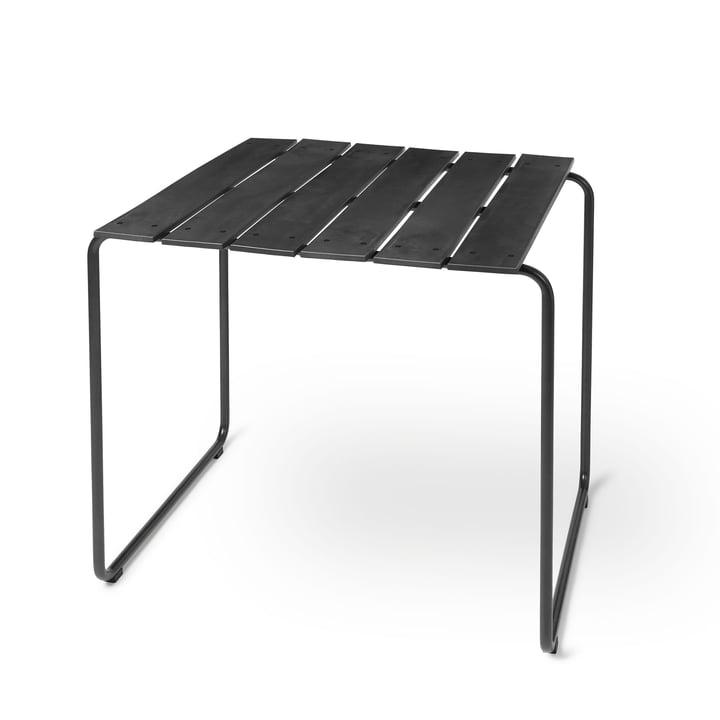 Ocean Tisch 70 x 70 cm von Mater in schwarz