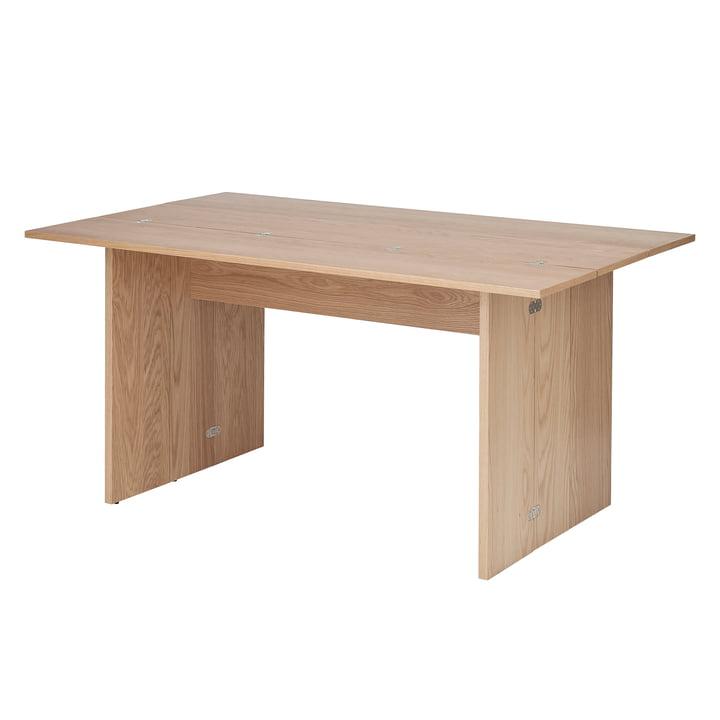 Flip Tisch, 3-fach klappbar in Eiche von Design House Stockholm