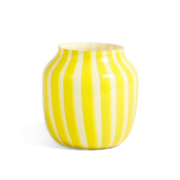 Juice Vase Ø 22 x H 22 cm von Hay in gelb