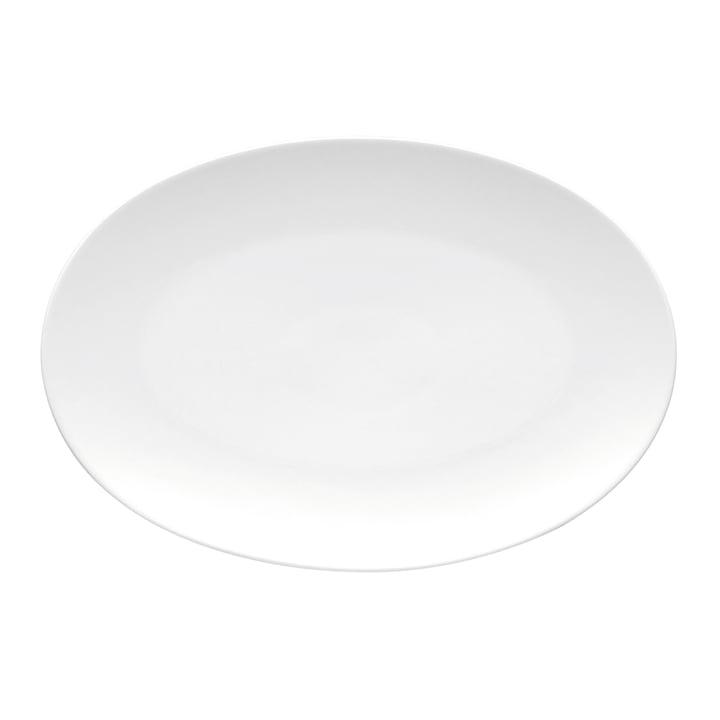 TAC Platte 25 x 17 cm von Rosenthalin weiß