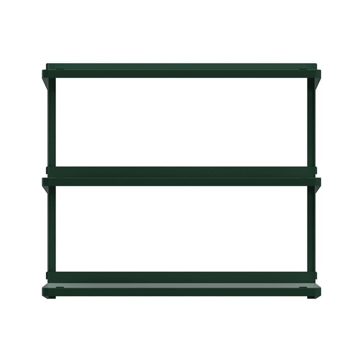 Click Regalsystem 710 × 210 × 610 mm von New Tendency in dunkelgrün