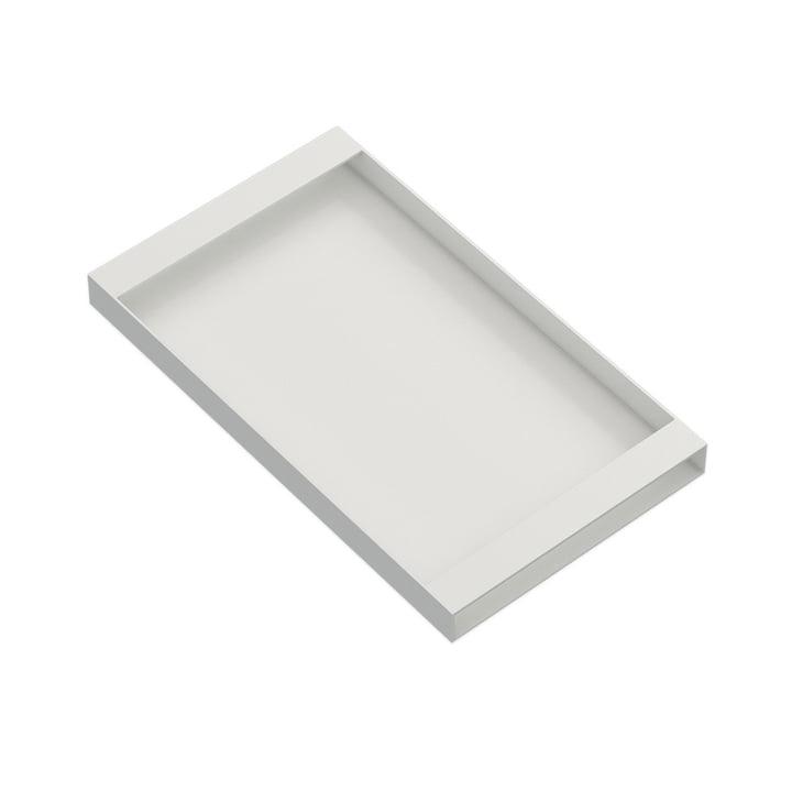 Torei Serviertablett 320 × 185 × 25 mm von New Tendency in weiß