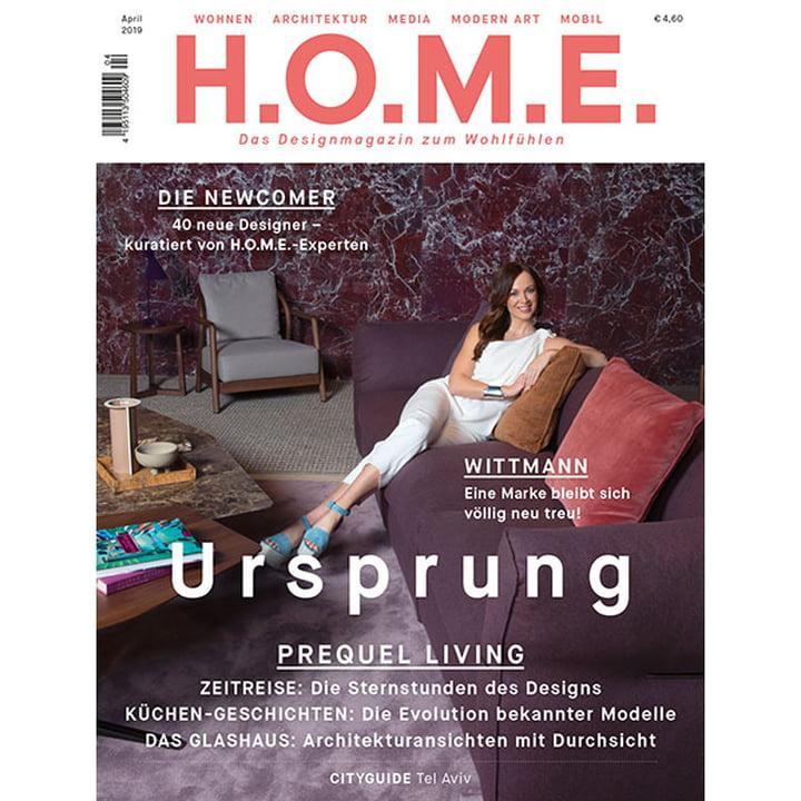 H.O.M.E. Designmagazin - April 2019