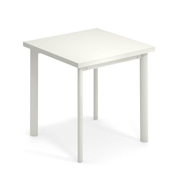 Star Tisch H 75 cm, 70 x 70 cm in weiß von Emu