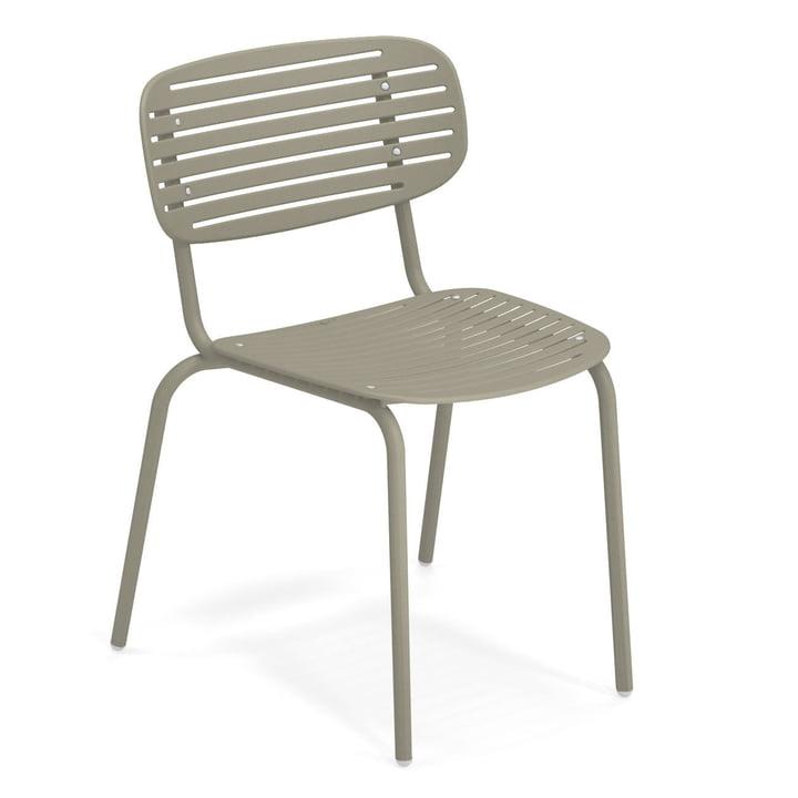Mom Stuhl in graugrün von Emu