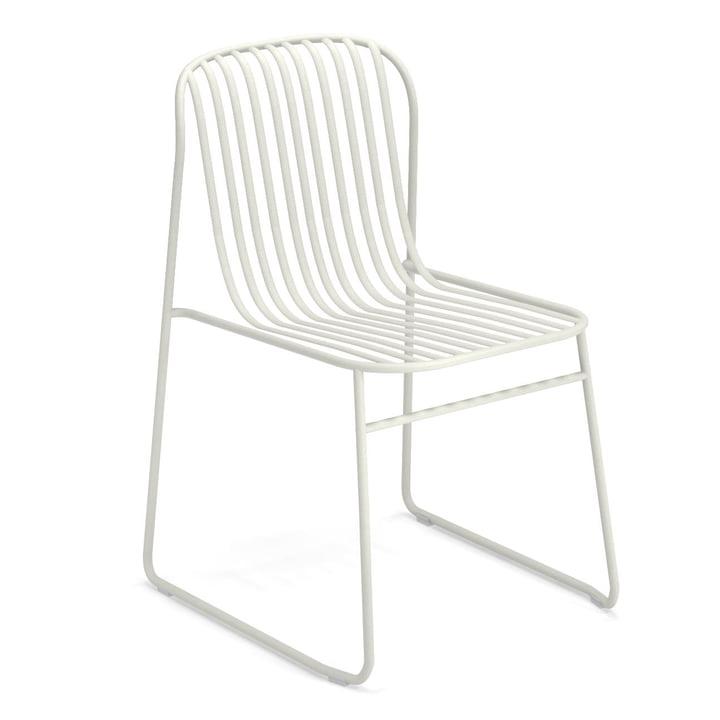 Riviera Stuhl in weiß von Emu