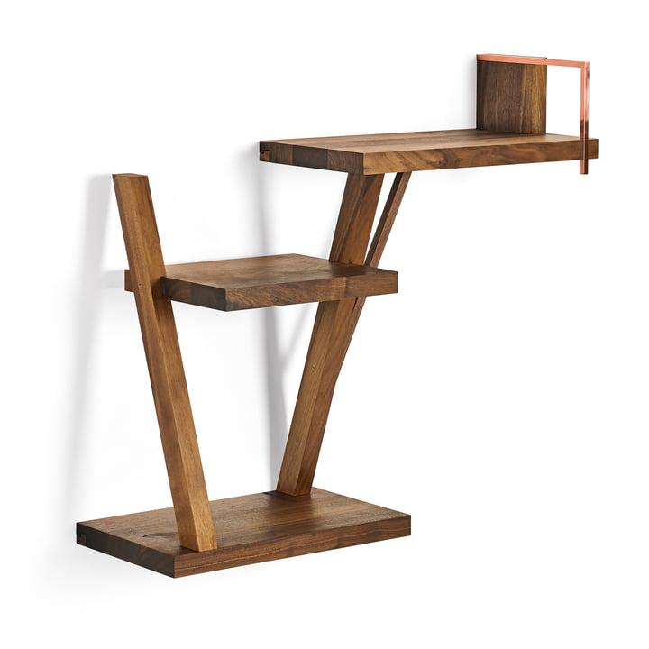 Taidgh Shelf C von ClassiCon aus Nussbaum