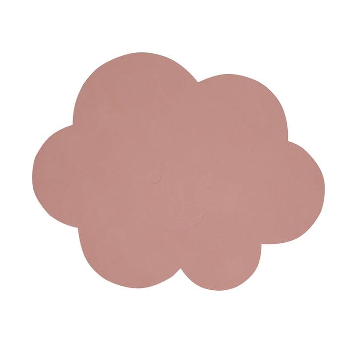 Kinder-Tischset Wolke von LindDNA in Nupo rose
