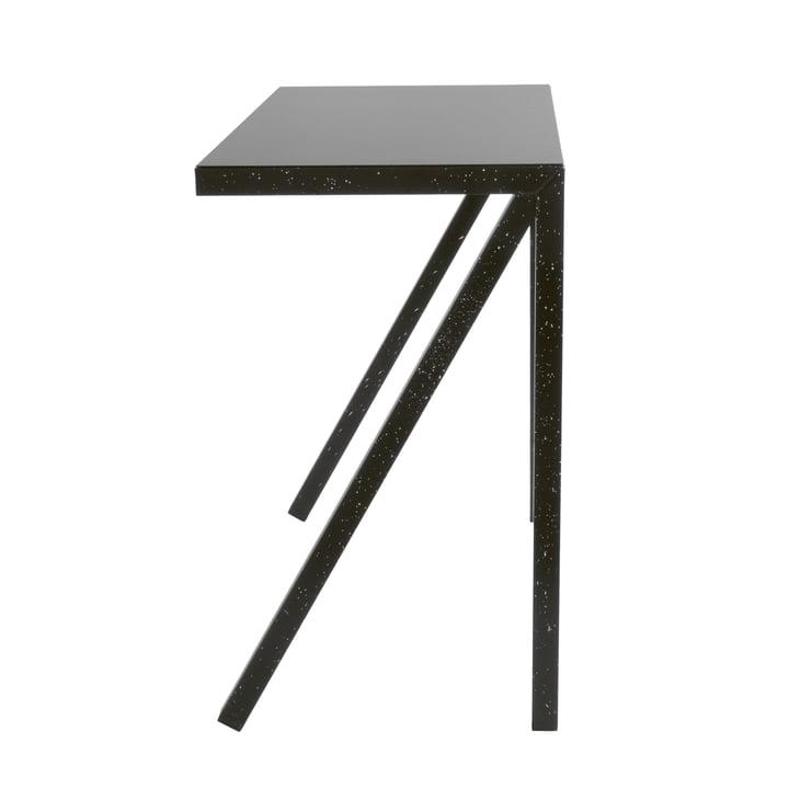 Bureaurama Bar-Tisch H 102,5 cm in schwarz (gespritzt weiß) von Magis