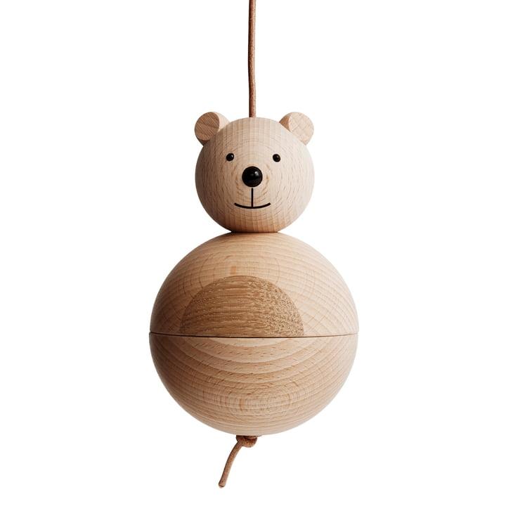 Holzfigur Bär von OYOY aus Eiche / Buche