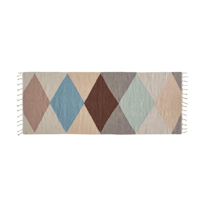Hip Teppich 200 x 75 cm von OYOY in multi
