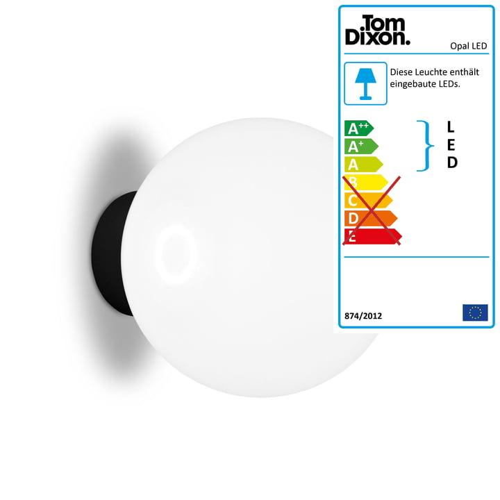 Opal LED Wand- und Deckenleuchte Ø 25 cm von Tom Dixon