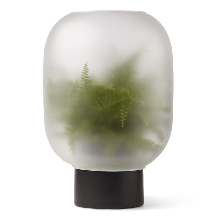 Nebl Vase mega, Ø 38 x H 44,2 cm in schwarz von Gejst