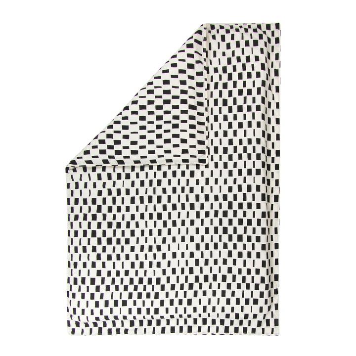 Iso Noppa Deckenbezug von Marimekko in off-white / schwarz