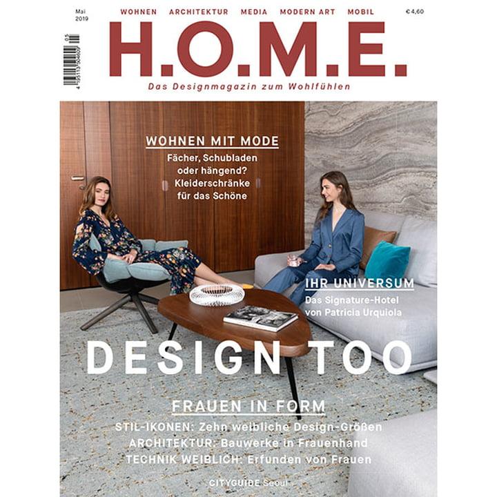 H.O.M.E. Designmagazin - Mai 2019