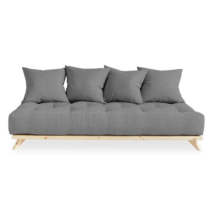 Senza Sofa von Karup Design in Kiefer natur / granitgrau (314)