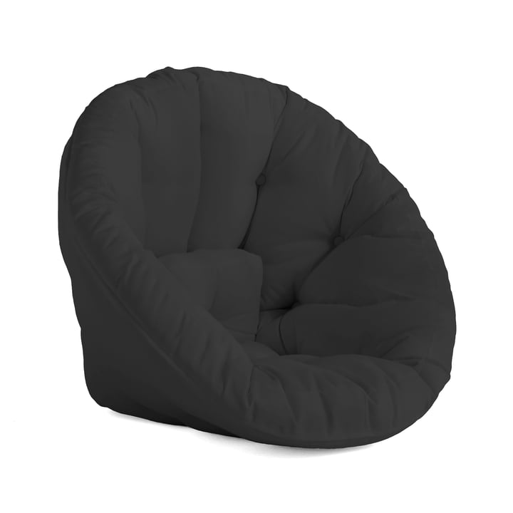 Nido OUT Futon-Sessel von Karup Design in dunkelgrau (403)