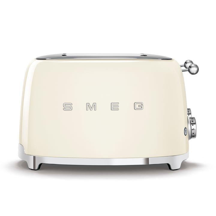 4-Scheiben Toaster TSF03 in creme von Smeg