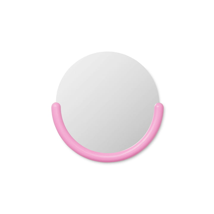 Bogin Wandspiegel small in pink von Normann Copenhagen