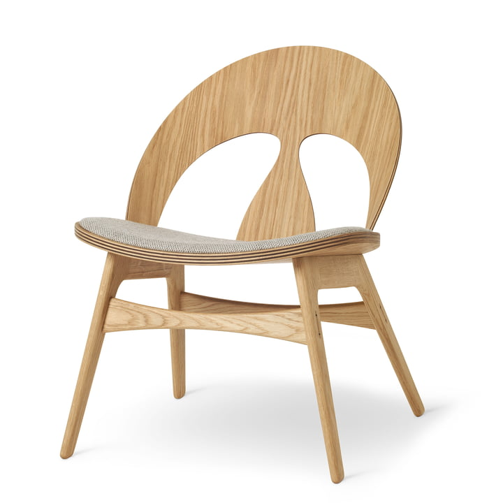 BM0949P Contour Chair in Eiche geölt / Kvadrat Molly von Carl Hansen