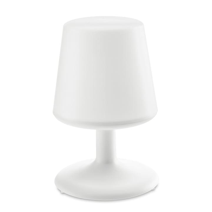 Light to go Akku-Tischleuchte in cotton white von Koziol