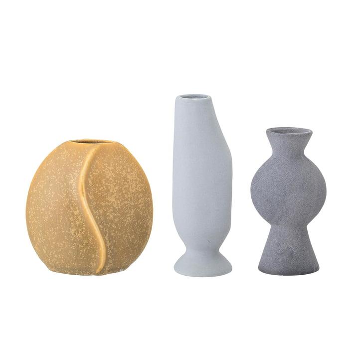 Steingut Vase von Bloomingville in multi-color (3er-Set)