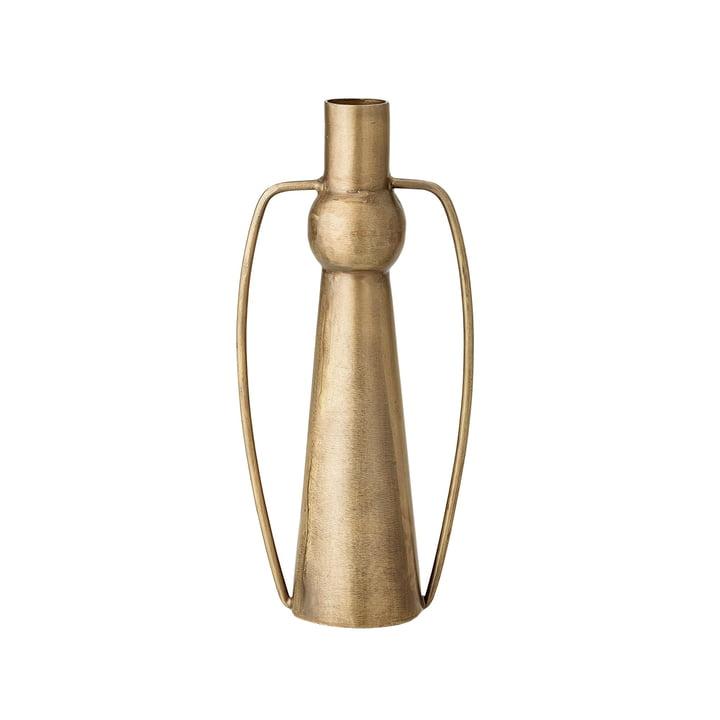 Vase mit Henkeln H 20 cm von Bloomingville in Messing