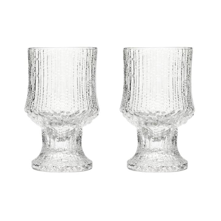 Ultima Thule Rotweinglas mit Fuß 23 cl (2er-Set) von Iittala