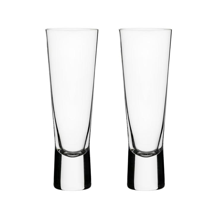 Aarne Champagnerglas 18 cl (2er-Set) von Iittala