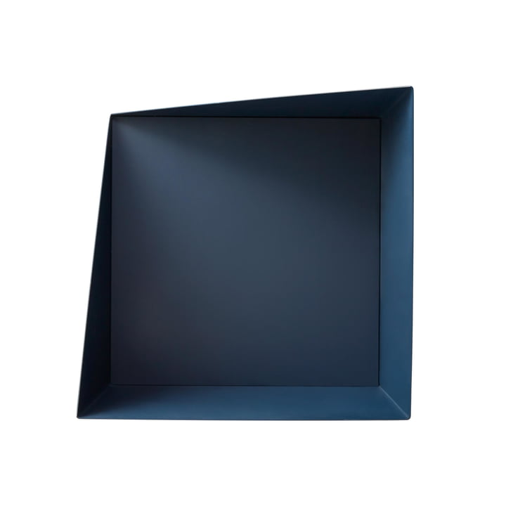 Wall Box Regalsystem in navy blue von Please wait to be seated