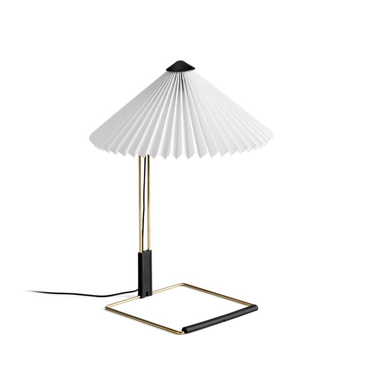 Matin LED Tischleuchte S, weiß von Hay