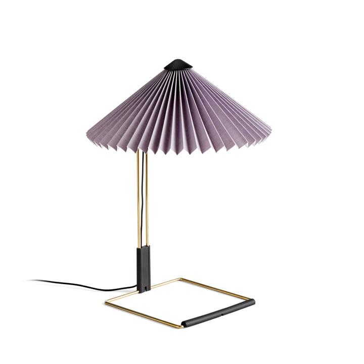 Matin LED Tischleuchte S, lavendel von Hay