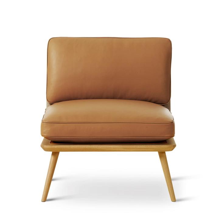 Spine Lounge Suite Chair Petit von Fredericia in Eiche klar lackiert