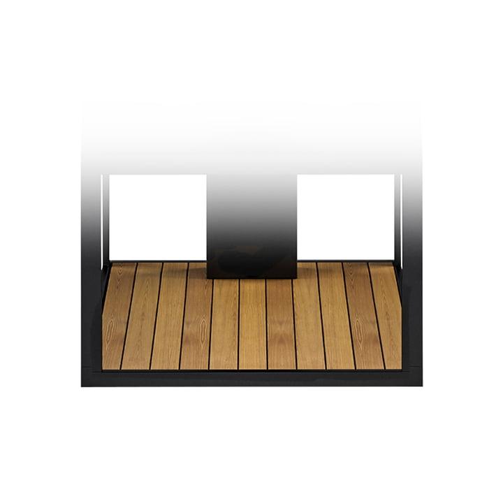 Teakboden für Open Kitchen 50 BBQ Kombi und Sideboard von Röshults